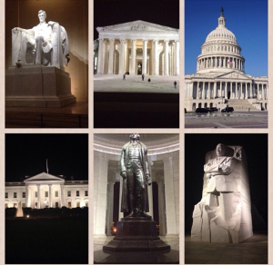 Not only did I visit D.C., but I got to talk to legislators about agriculture while I was there!